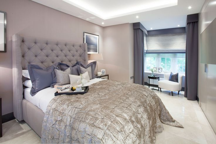 Parkside II | Luxury Master Bedroom | JHR Interiors