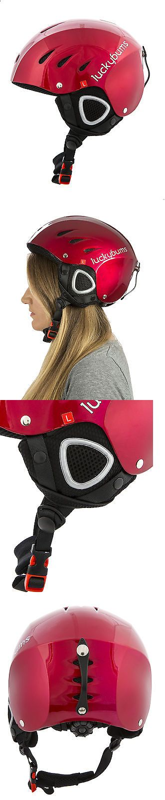 Protective Gear 36260: Lucky Bums Snow Sport Helmet, Red, Large -> BUY IT NOW ONLY: $39.99 on eBay!