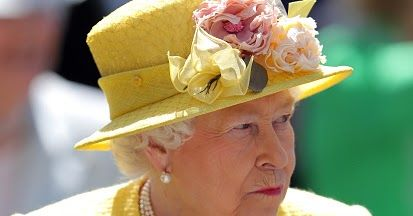 Queen Elizabeth II on Derby Day of the 2017 Investec Epsom Derby Festival at Epsom Racecourse, Epsom.      Queen Elizabeth II on Derby Day...