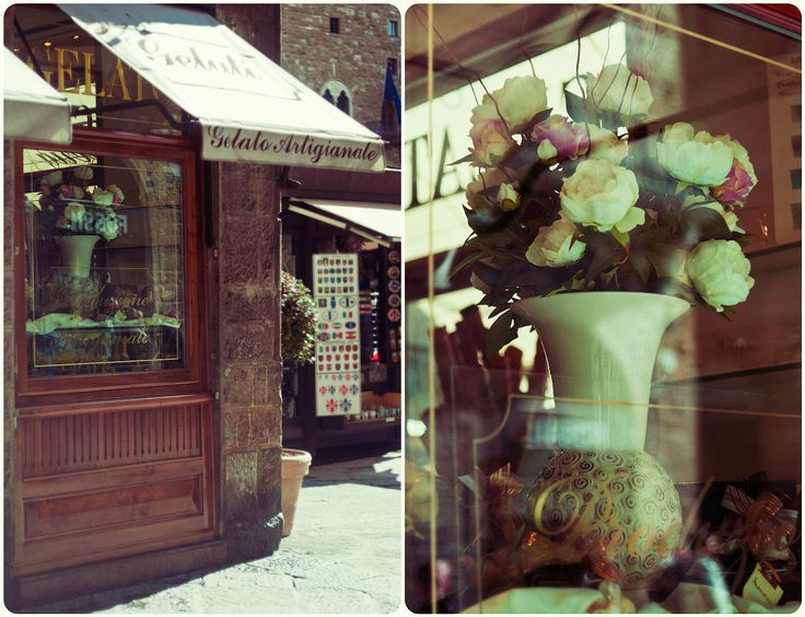 #helios #diptych #details #outdoors #Florence #life #moments #mamba #city #shop #center #building #sweet #flowers #cafe #light #shadow #day by Olga Tkachenko