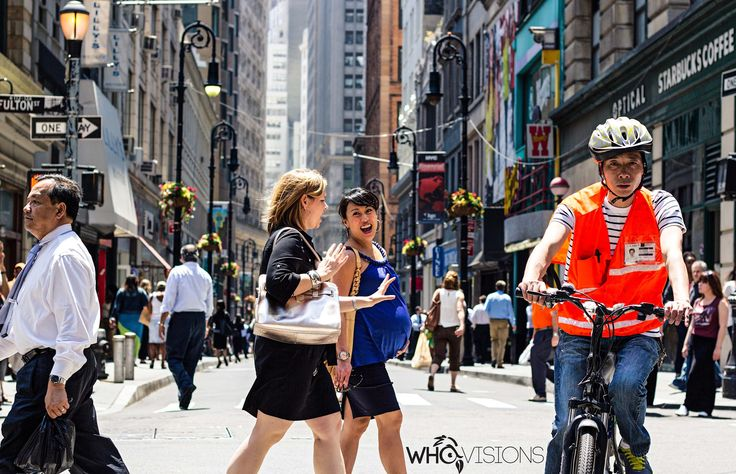"""""""Walking Down Fulton Street""""  Photography by Superdave Houdini Who Visions Photography © 2014"""