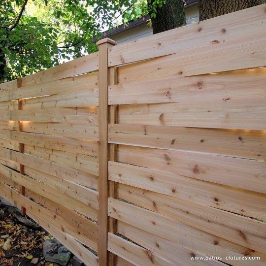 poteaux de clôture en bois