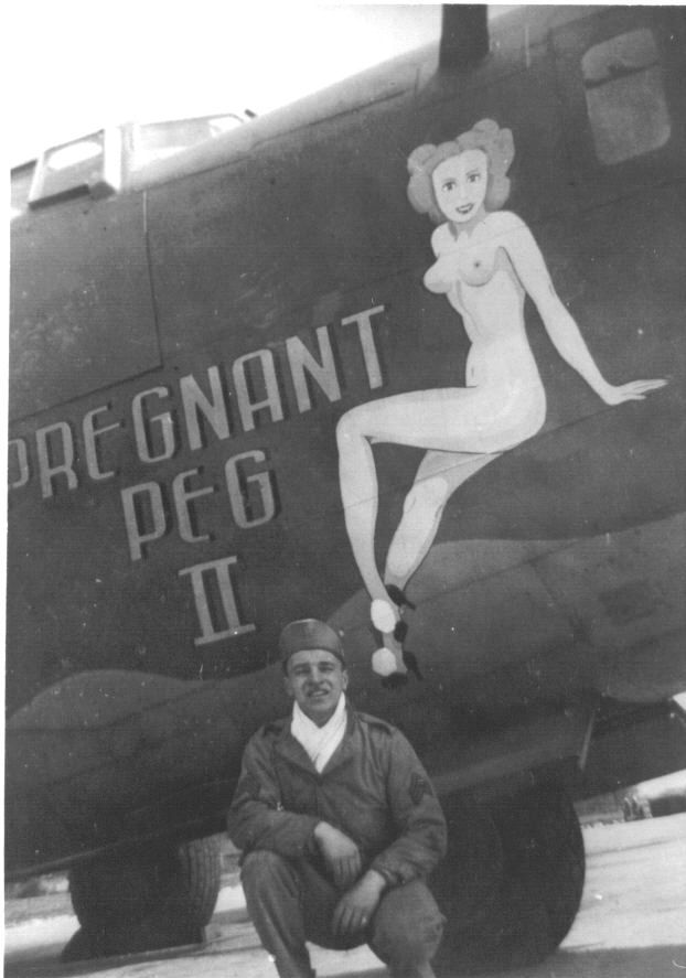 "B-24 ""Pregnant Peg II"" The name says it all. Look around and you'll see the original Pregnant Peg"