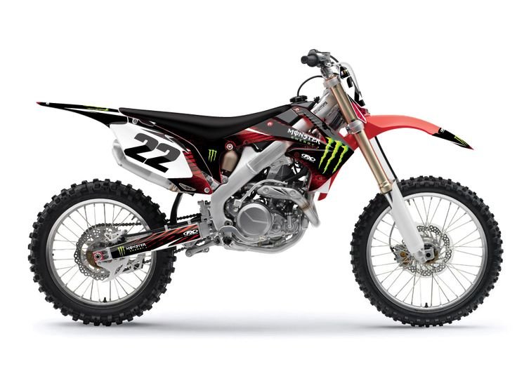 7 Best Dirt Bike Graphics Images On Pinterest Dirt Biking Honda