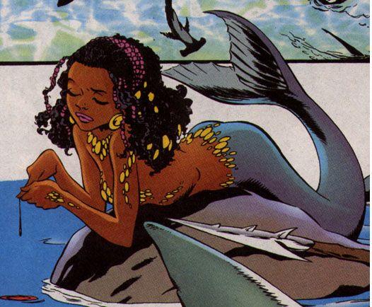 DC Comics mermaid illustration