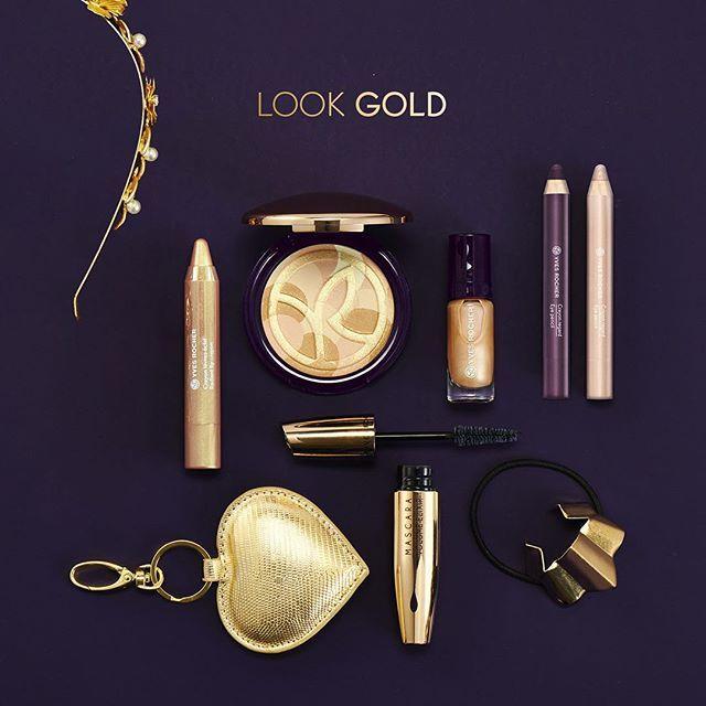 Glamourös und festlich - die Looks für die Festtage sind da! #festtage #glamour #makeup #makeuplooks #xmaslook #lookgold