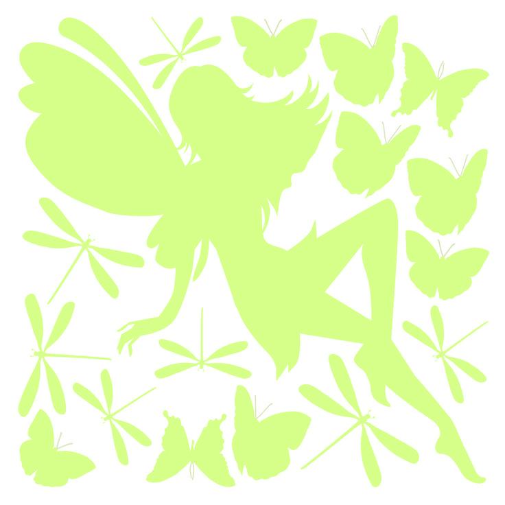 Stickers M Glow Fairy