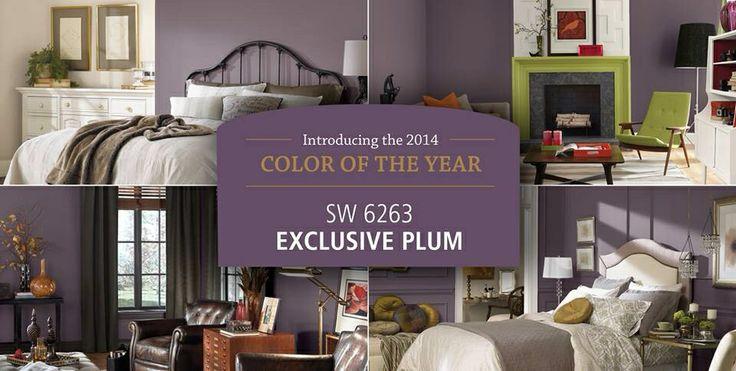 Sherwin Williams Sw6263 Exclusive Plum 2014 Color
