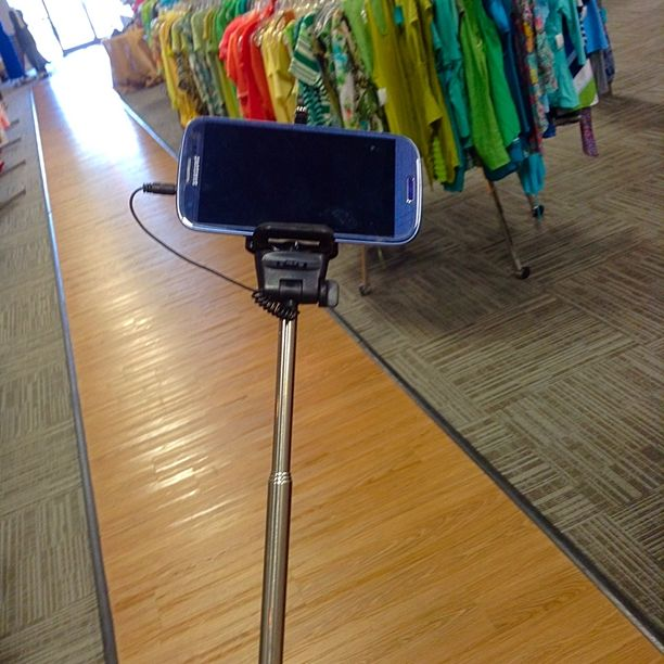 Good Tuesday Morning! - Oh it's officially on! You know it's a party when you've got a selfie stick! Come be silly and fashionable with us!  We're still getting ready for the 4th with our pick your sparkler sale! And there's 2 amazing coupons on our app!!! ‼️ #goodmorning #happytuesday #sale #fourthofjuly #summer #trouble #selfies #butfirstletmetakeaselfie #comeplay #goodtimes #smile #fifislkn #clt #lkn #consignment