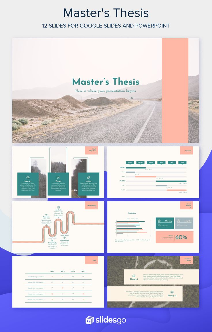 Master thesis presentation on dbms