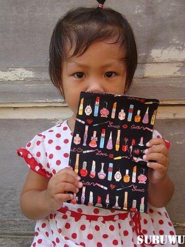 SUBUWU魅力彩妝刷拼布包