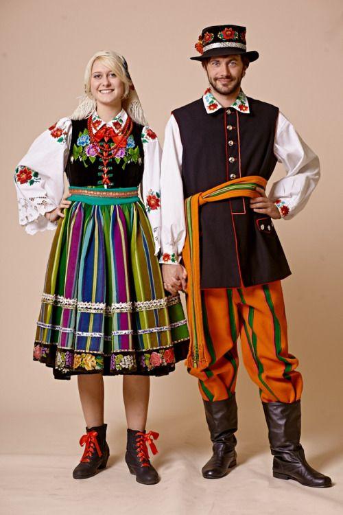 высокой польский национальный костюм женский фото же, вероятно