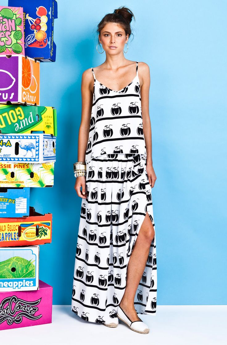Chip Chop! - Coconuts Maxi Skirt, $139.00 (http://www.chipchop.com.au/coconuts-maxi-skirt/)