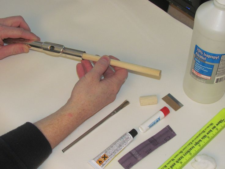 how to replace flute head cork instrument clinic band