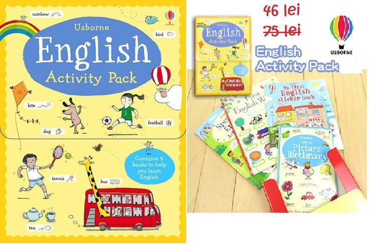 Oferta Pachet 4 carticele de invatare limba engleza copii