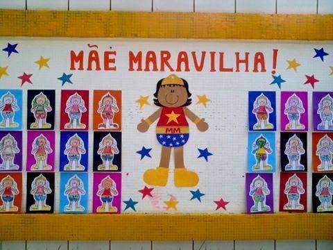 painel dia da mãe pré-escolar - Pesquisa Google
