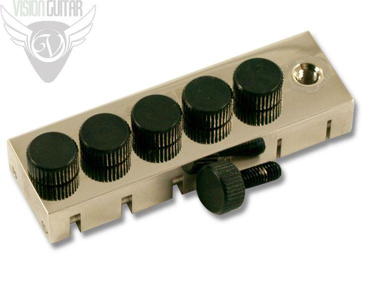 New! Stetsbar Fine Tuner – Nickel | Vision Guitar