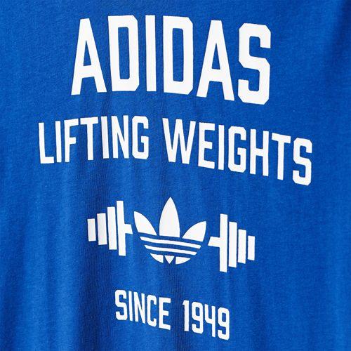 オリジナルス Tシャツ[LIFTINGWEIGHT TEE] ウェア アパレル Tシャツ ポロシャツ [AJ7178]|アディダス オンラインショップ -adidas 公式サイト-