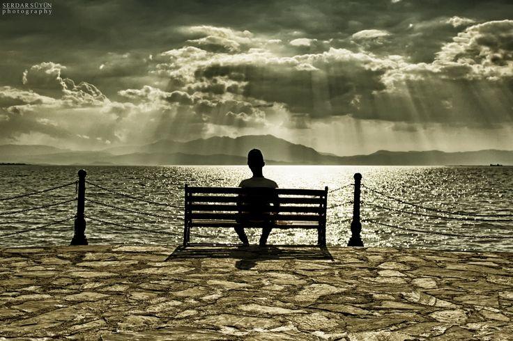Beyşehir Lake and Lonely Man by Serdar SÜYÜN on 500px