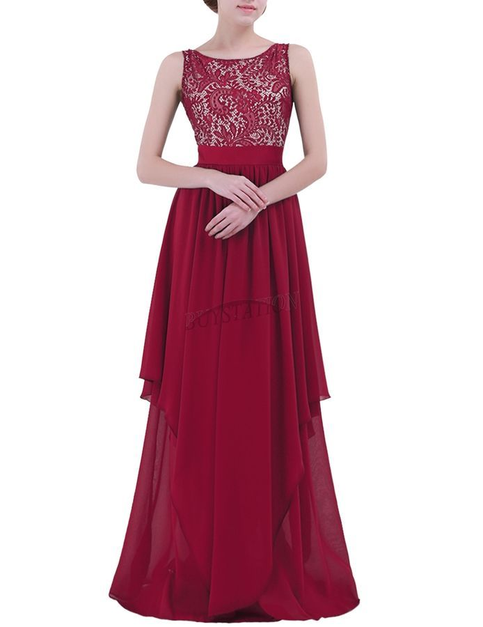 Clearance ST Ladies Long Evening Party Prom Gown Pageant Formal Bridesmaid Dress