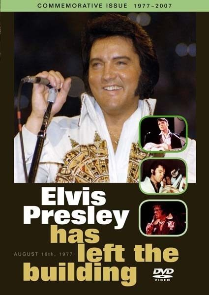 ELVIS PRESLEY HAS LEFT THE BUILDING DVD (Commemorative Issue 1977 - 2007)