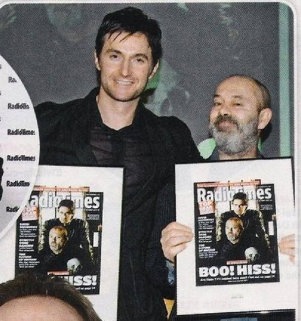 Richard Armitage and Keith Allen. This picture is the most epic of wins.