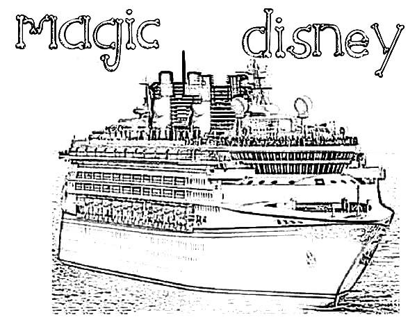 Disney Cruise Line Coloring Pages Disney Cruise Ships Disney Cruise Line Coloring Pages