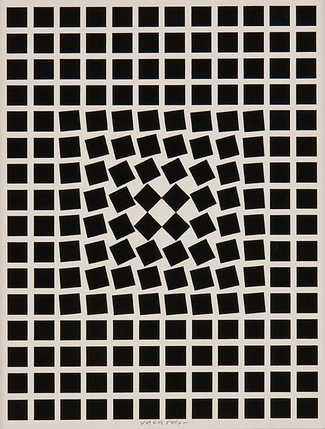 Pin by Azizihasan on Art Victor vasarely Op art