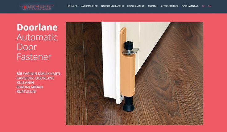 Doorlane Kontrol Panelli Web Sitesi 3 - Silüet Tanıtım Web Tasarım