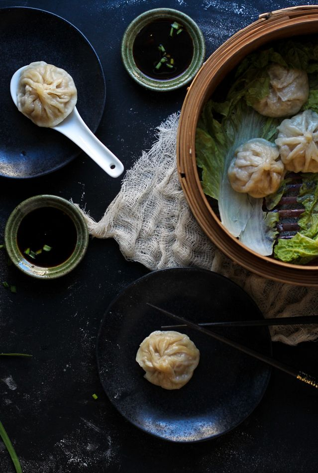 Xiao Long Bao / Shanghai Soup Dumplings || Chocolate + Marrow