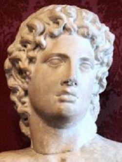 imagen de Alcibíades (Museos Capitolinos)