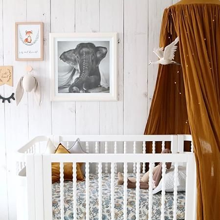 With a range of gorgeous prints to choose from and made from high quality cotton, our fitted cot sheets are sure to add style into any nursery. The ideal baby shower or new baby gift. 100% cotton, this sheet measures 130cm x 70cm x 17cm. Made with love in New Zealand.