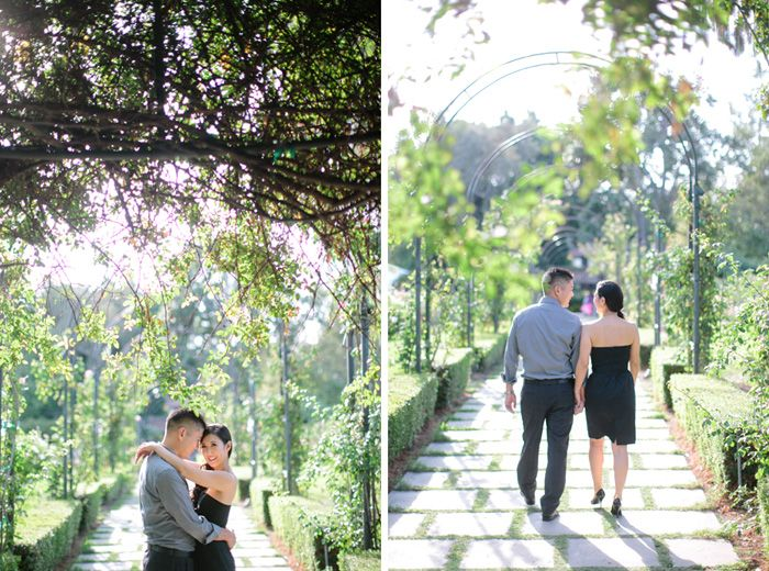 Amie Daniel Huntington Library Engagement Orange County Husband And Wife Film Wedding