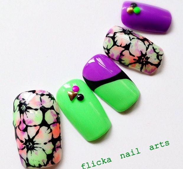 Mejores 698 imágenes de Nail Art (Uñas) en Pinterest | Uñas bonitas ...