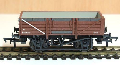 Bachmann 33-087   BR China clay wagon (weathered)