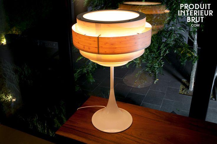 La finesse du bois pour une luminosité chaleureuse rétro