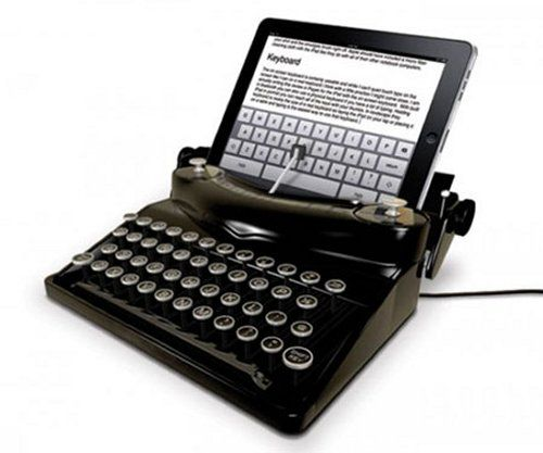 I love that this exists. Typescreen turns your iPad into a Typewriter