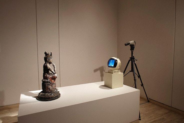 Nam June Paik, TV Buddha, 1976 - CoSA | Contemporary Sacred Art