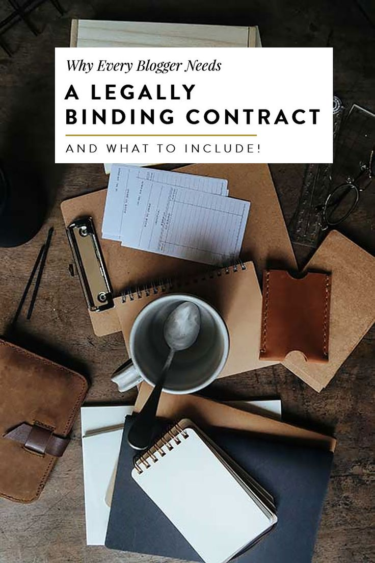 what to include in your blogger contract and why you shouldnt take on any blogger projects, blog collaborations or partnerships without one! read on for basic legal advice and how to get your best brand partnership yet!