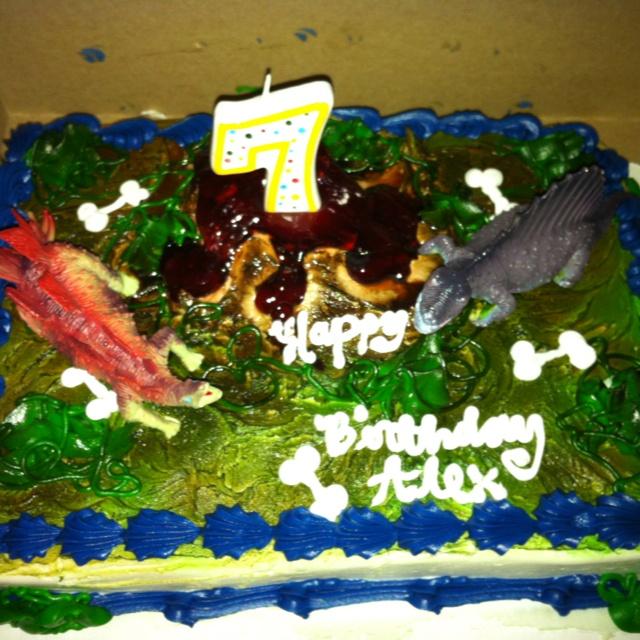 Dinosaur Cake From Wal Mart Cakes Pinterest Dinosaur