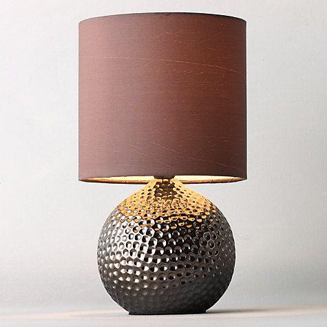 Buy John Lewis Alisa Table Lamp, Bronze Online at johnlewis.com £15