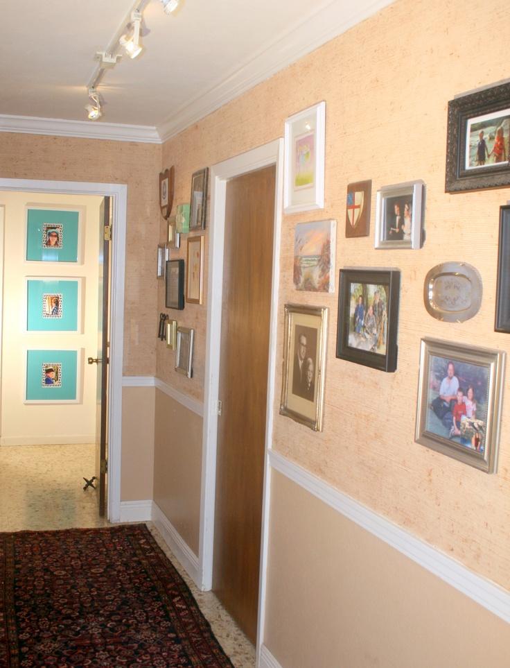 hallway photos with track lighting house ideas. Black Bedroom Furniture Sets. Home Design Ideas