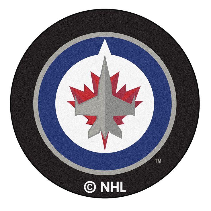 Atlanta Thrashers NHL Puck Mat (29 diameter)