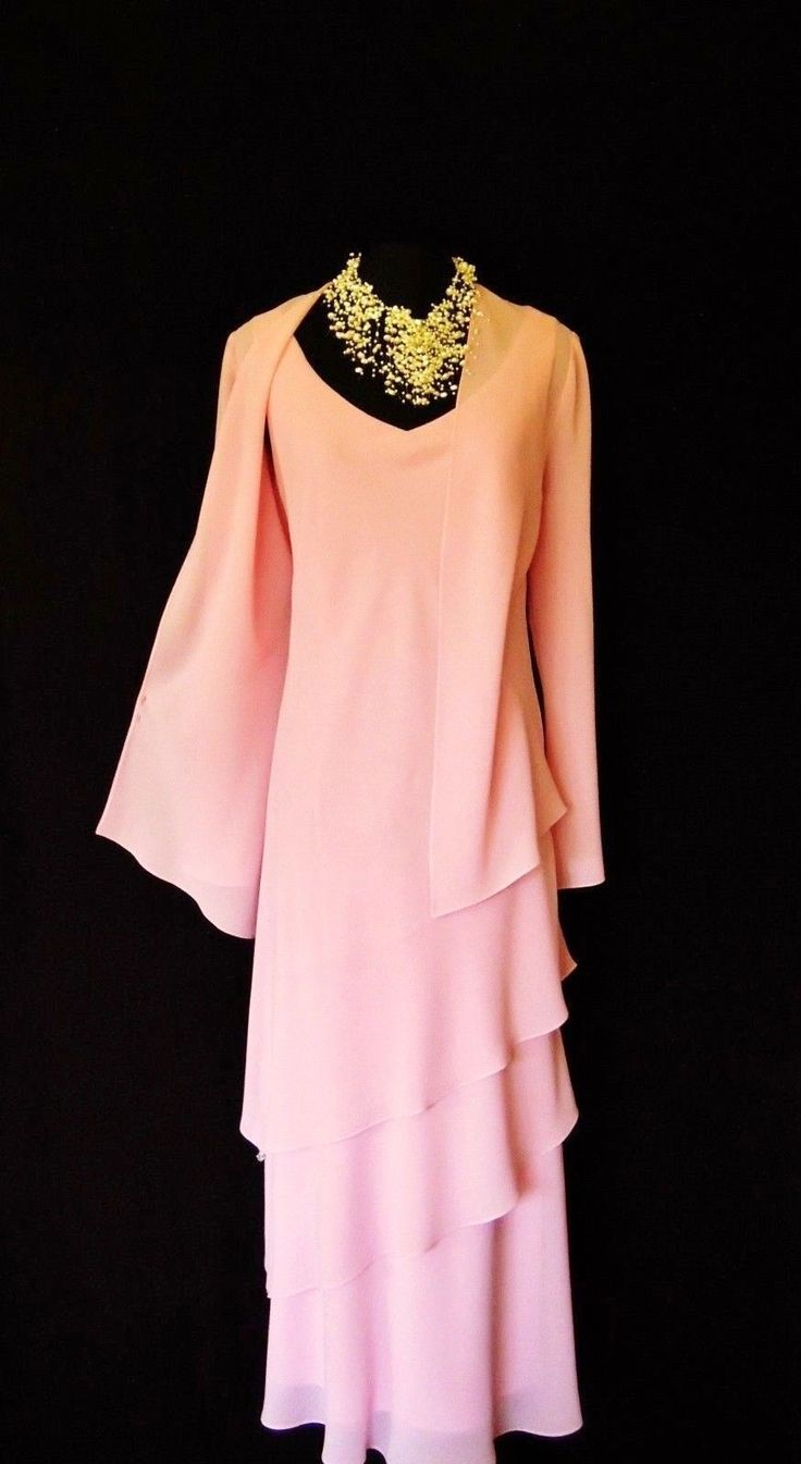 ❤ Wedding ❤ Mother of the Bride / Groom? Mature Bride? Wedding Guest? CATTIVA Designer Pink Wedding Dress & Jacket Outfit http://www.genevives-boutique.co.uk/