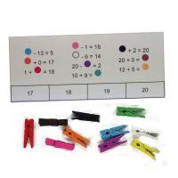 Matematické doplňovačky 1 - Sčítání a odčítání do 20