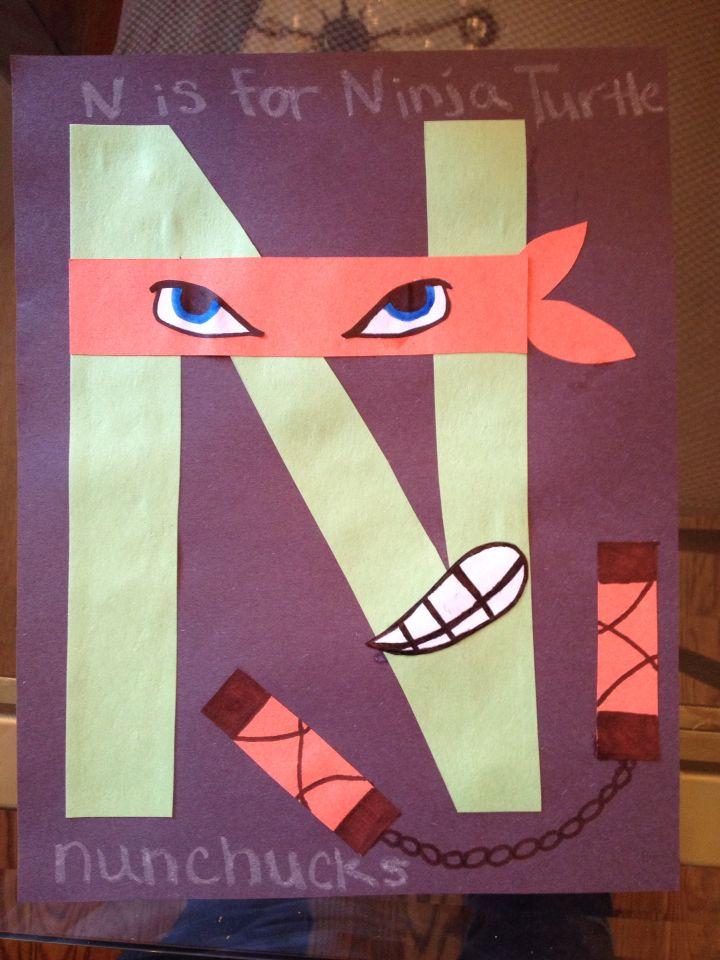 Best 10 letter n crafts ideas on pinterest letter n for Letter n decorations
