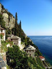 Panoramio - Photo of Άγιο Όρος: Μονή Διονυσίου - Mount Athos: Dionysiou Monastery, Please open it.( Dedicated to Tonia J)