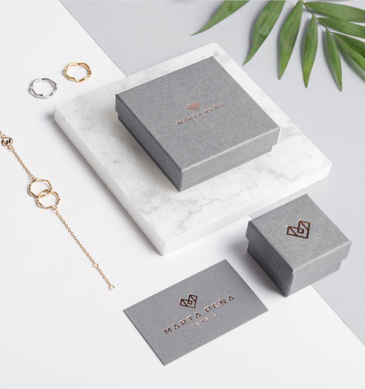 Marta Peña Jewels Identity by Sirōko Studio  http://mindsparklemag.com/design/graphic/marta-pena-jewels-identity/