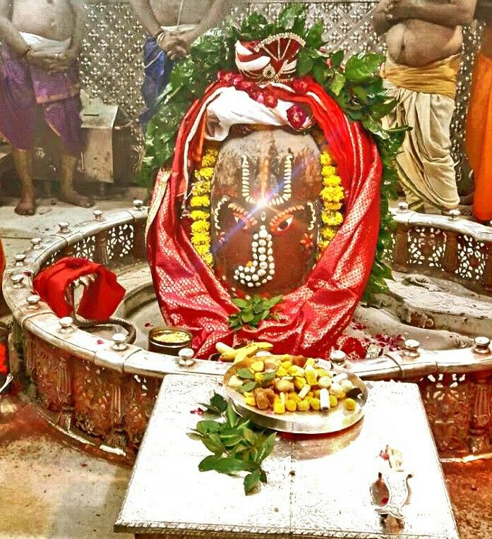#Bhasma #Aarti pic of Shree #Mahakal #Ujjain -  Sept. 05  Visit the #holy city of Ujjain famous for its #Temples
