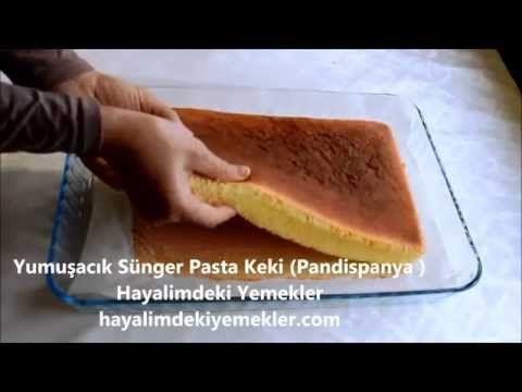 Yumuşacık Pasta Keki (Pandispanya ) | Resimli Yemek Tarifleri Hayalimdeki Yemekler